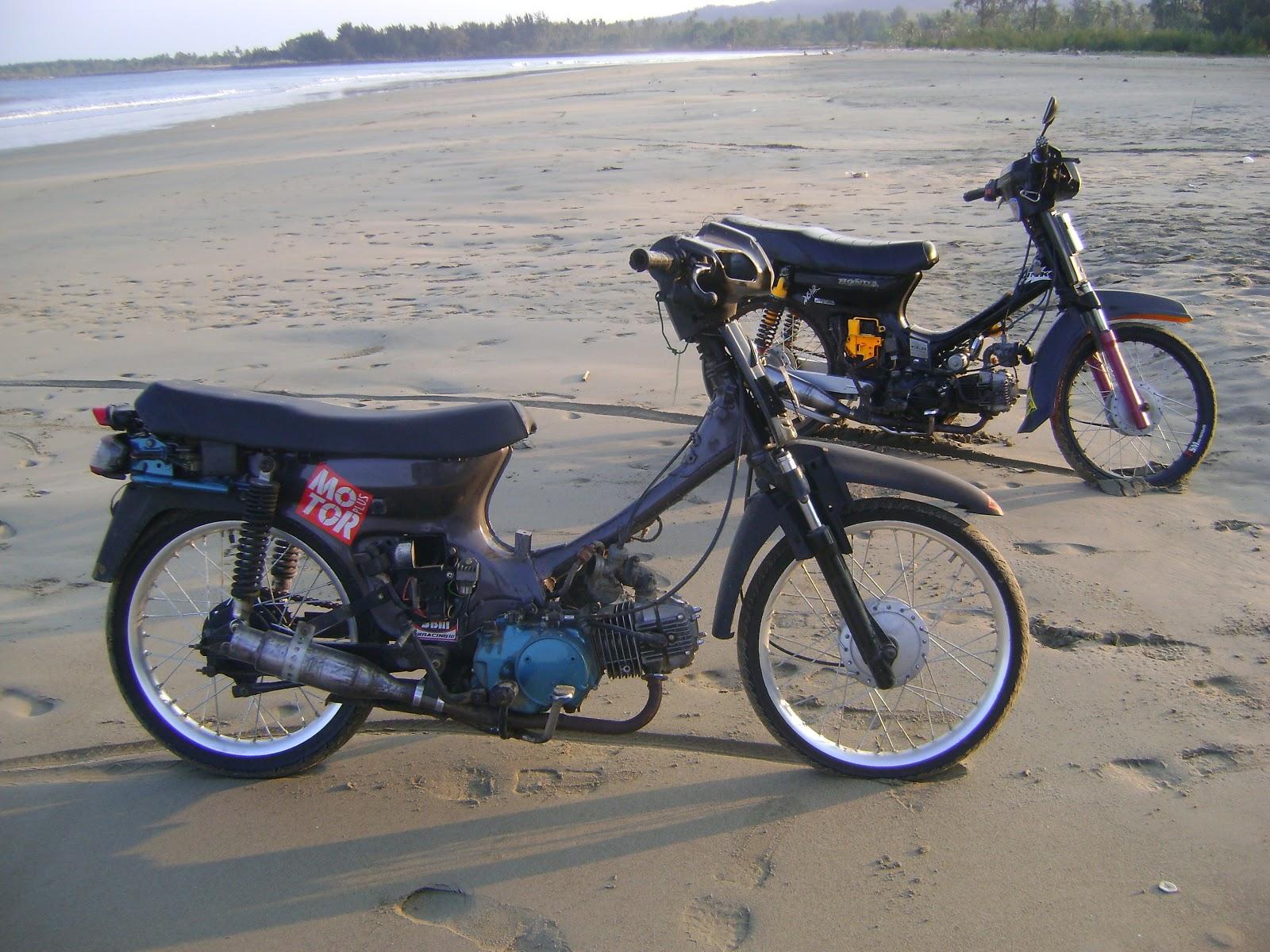 Modifikasi Motor Honda Grand