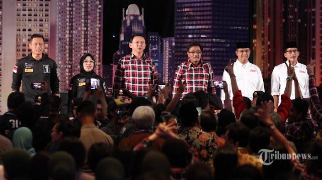 Anies Menelanjangi Diri di Panggung Debat Pilkada DKI