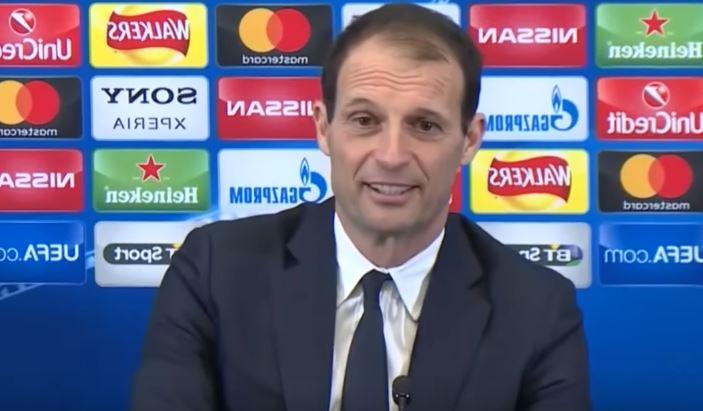 Allegri parla del suo futuro e della Champions League al termine di Tottenham Juventus