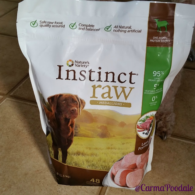 Instinct Raw food bag