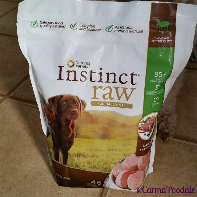Instinct Raw food bag
