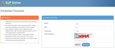 Cara Mengetahui EFIN E-Filing Pajak Online