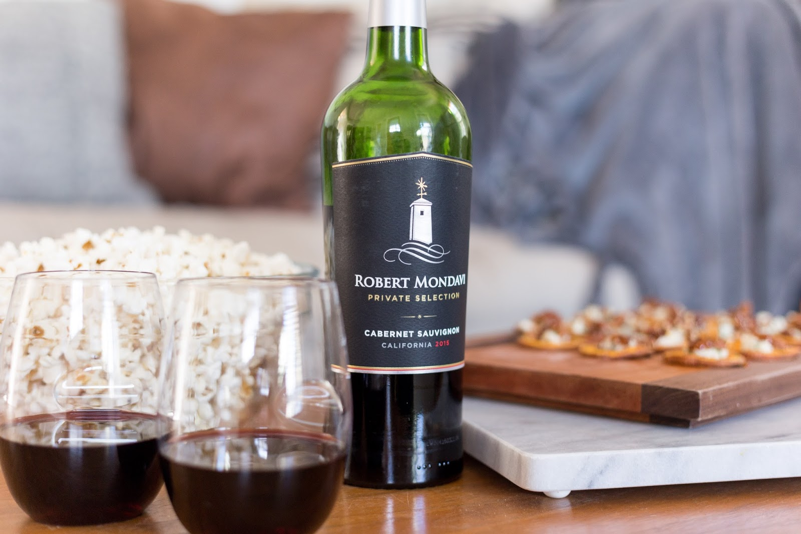 Sharing deets for the perfect girl's night with Robert Mondavi Private Selection!