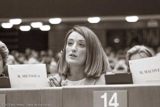 European Deputy - Stand Up For Europe - Parlement européen - Photo by Ben Heine