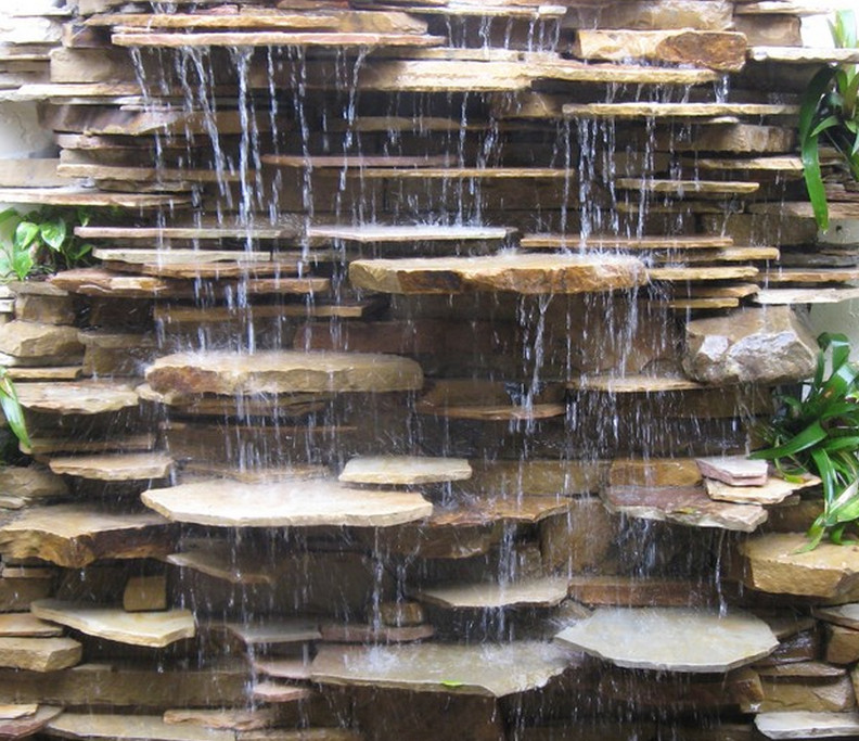 wall fountains outdoor