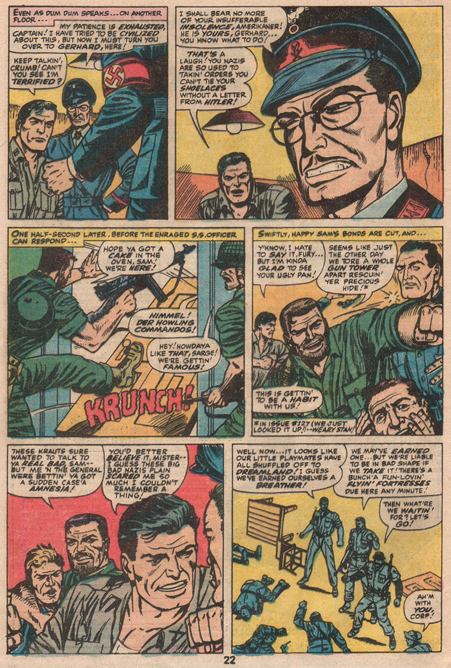 Read online Sgt. Fury comic -  Issue #133 - 24