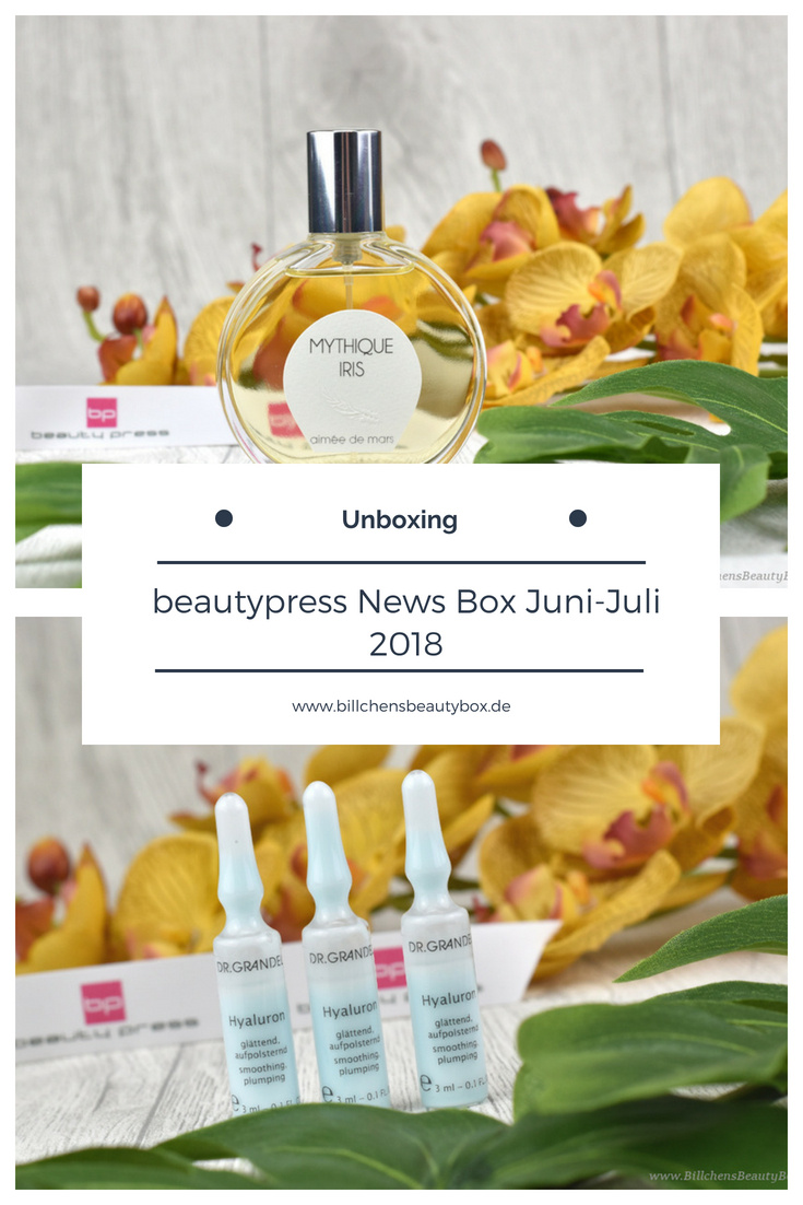 beautypress News Box Juni & Juli 2018 - Unboxing und Inhalt