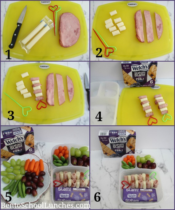 Step By Step Tutorial for kebabs with Welch's Grand Slam! Grape PB&J