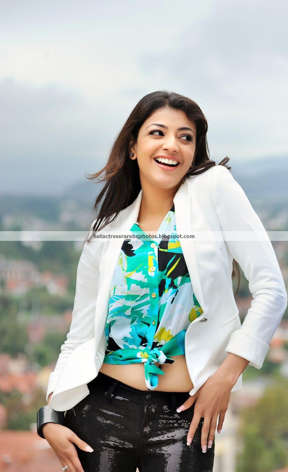 Hot Indian Actress Rare Hq Photos South Actress Kajal -2831