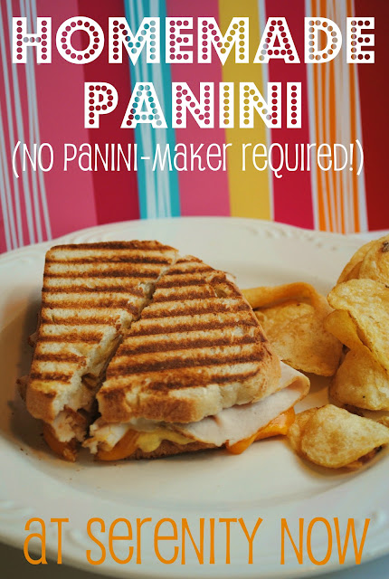 Homemade Panini Recipe (No Panini Maker Needed!) from Serenity Now