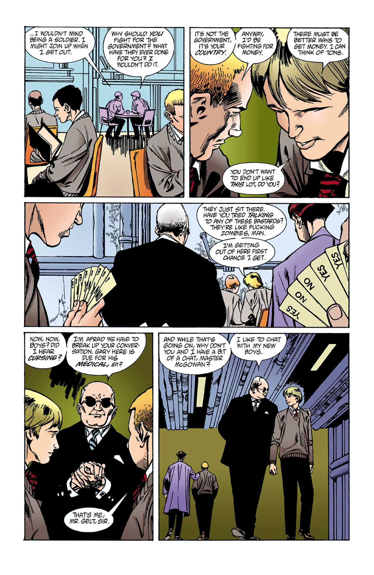 The Invisibles (1994) 1 Page 25