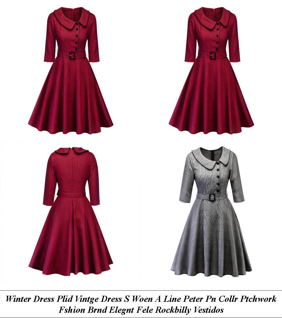 Semi Formal Dresses - Clearance Sale Near Me - White Dress - Cheap Clothes Uk