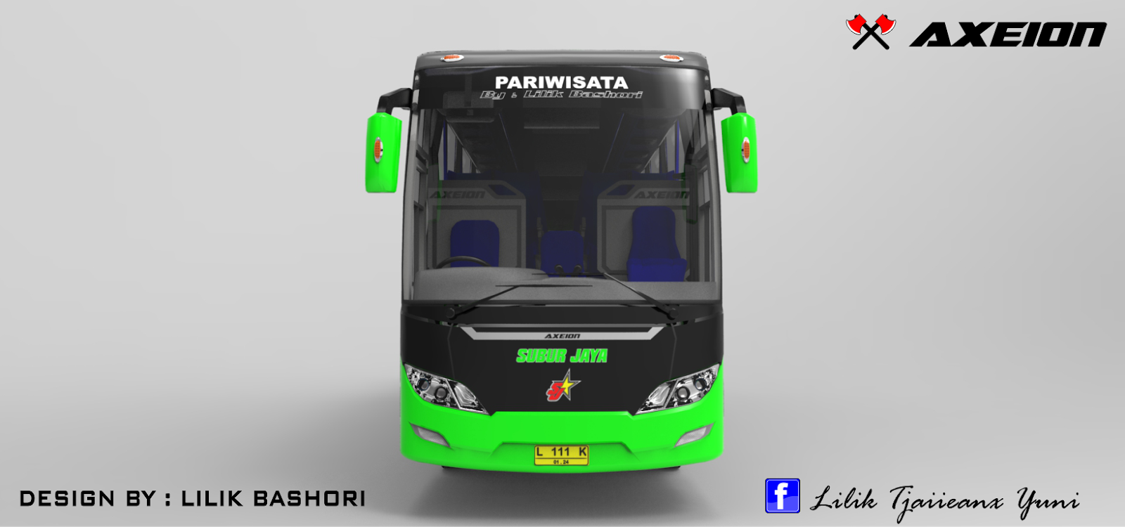 Design bus Axeion front