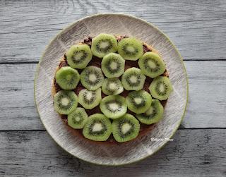Bulles de Plume Gâteau Chocolat Kiwi