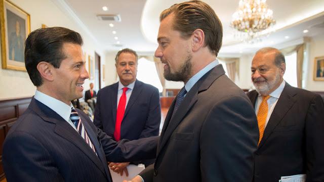 Peña Nieto, Slim y DiCaprio forman un equipo insólito para salvar a la vaquita marina