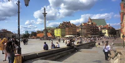 Schlossplatz-Warschau