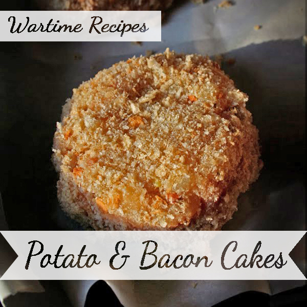 Wartime Potato & Bacon Cakes recipes