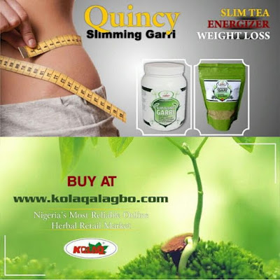 Do you want to know the most effective and healthy way of weightloss?? Just try New Quincy Slimming Garri