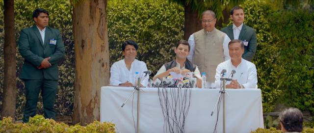 Arjun Mathur plays Rahul Gandhi
