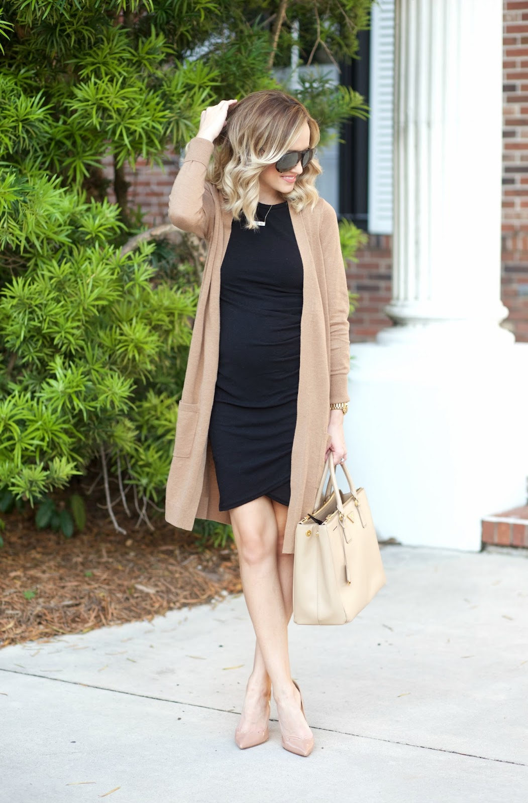 1f409bb2acf A Spoonful of Style  LBD and my favorite Cardigan...