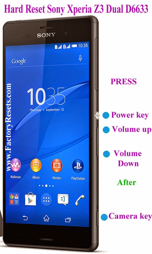 My Friends Told Me About You / Guide sony xperia z3 hard reset