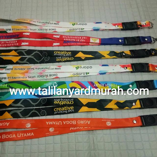 Harga tali lanyard digital printing
