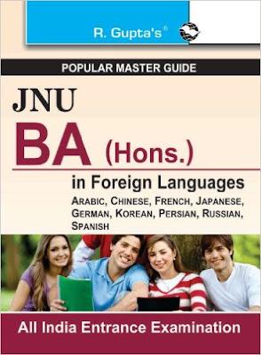 Download Free books PDF for JNU BA (Hons.) entrance exam