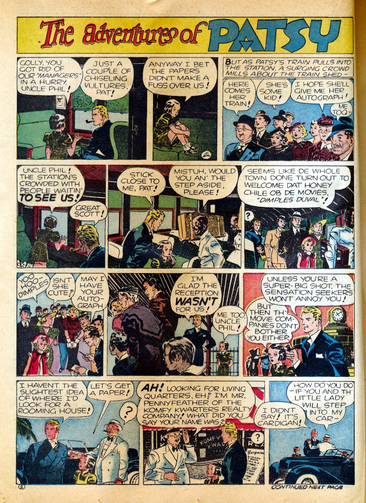 Read online Famous Funnies comic -  Issue #82 - 30