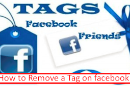 How to Delete A Tag In Facebook
