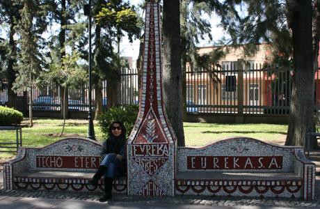 Plaza de las Tres Centurias, Estación del Tren, Aguascalientes