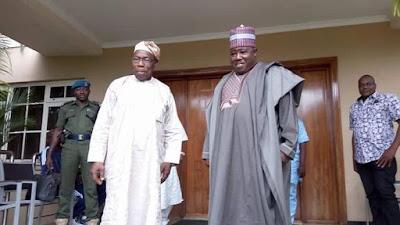 PDP crisis, Sheriff visits Obasanjo for solution