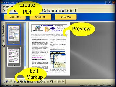تحميل برنامج صناعة الكتب الإلكترونية  PDF Creator