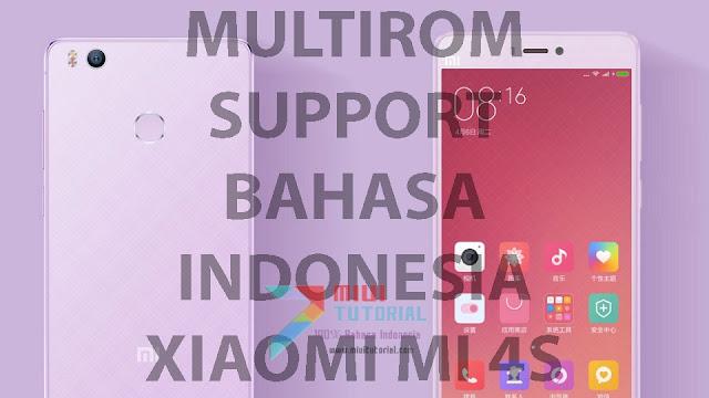 Kapan Xiaomi Mi4s Kebagian Rom Miui 8 Global Berbahasa Indonesia? Dari Pada Nunggu: Kenapa Tidak Coba MultiRom v7.4.2.0 Berikut Ini