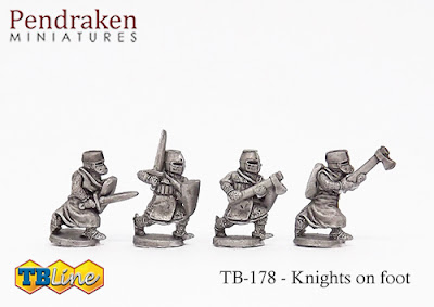 TB-178   Knights on foot