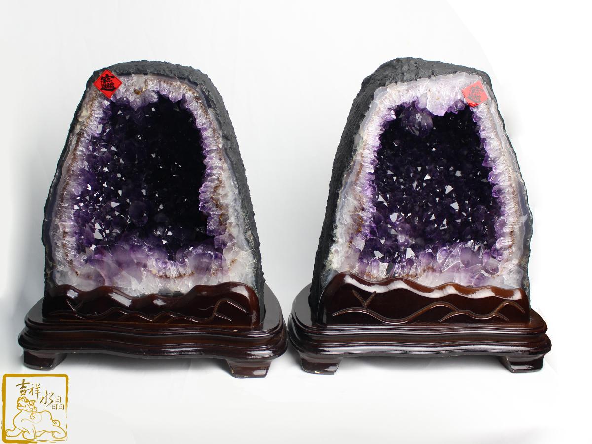 紫鈦晶洞真的有鈦晶嗎? - 吉祥...