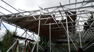 Jasa pemasangam atap baja ringan kab bogor jabar murah berkwalitas