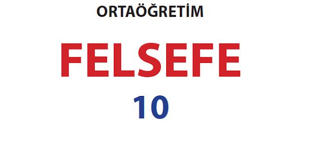 10. Sınıf Felsefe MEB Yayınları