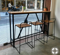 kumpulan kursi cafe unik