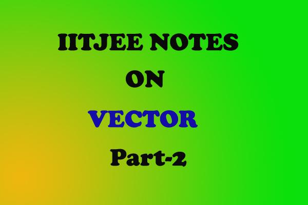 vector class 11 problems