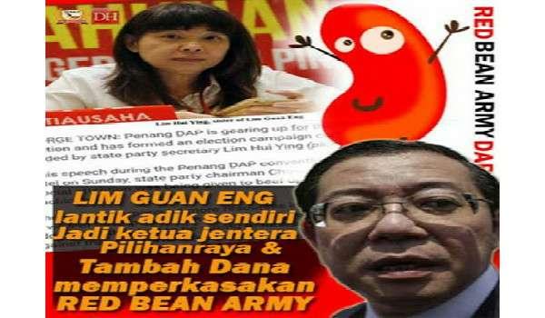 Red Bean Army Pun Berkubur Bila DAP Kawan Dengan Mahathir.
