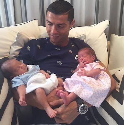 Ronaldo Twin Babies