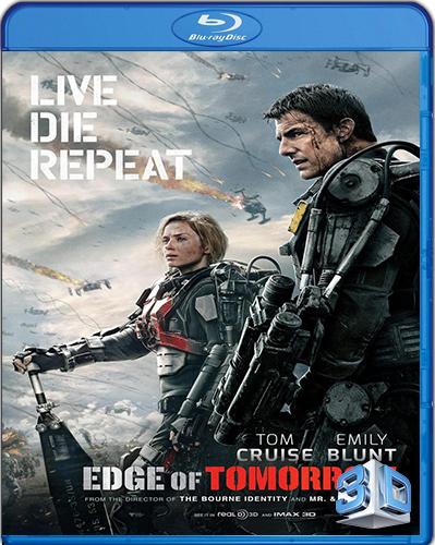 Edge of Tomorrow [2014] [BD50] [3D] [Español]
