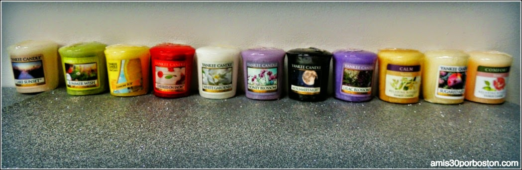 Yankee Candle Samplers Votive Candles
