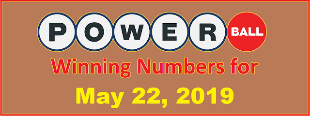 PowerBall Winning Numbers for Wednesday, May 22, 2019