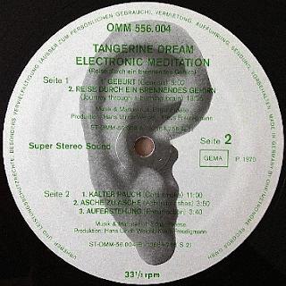 Tangerine Dream electronic mediation