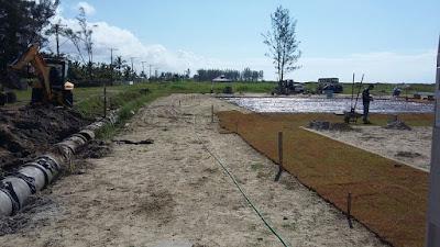 Em execução, construção da ilha de lazer  do balneário City Mar chega aos 50%