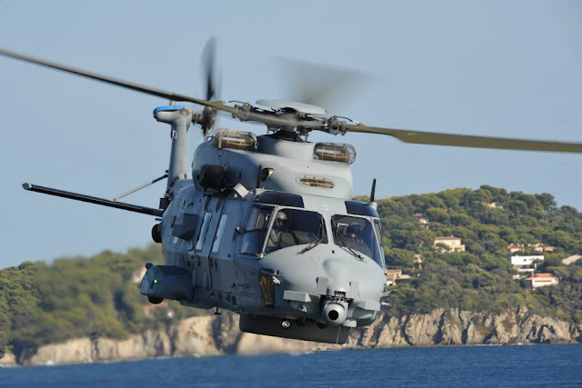 ITALIAN NAVY RECEIVES FIRST NH90 MITT TACTICAL TRANSPORT HELICOPTER