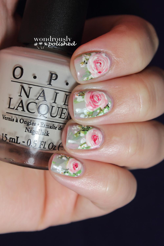 Wondrously Polished April Nail Art Challenge: Wondrously Polished: 31 Day Nail Art Challenge