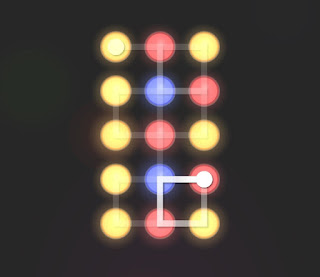 Solution, Cheats, Walkthrough for Neon Hack [Neon Dots] Level 21