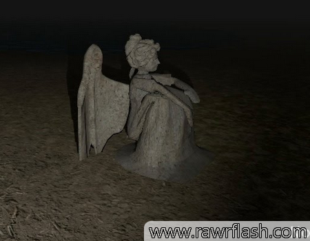 Jogo Doctor Who, Don't Blink: weeping angels